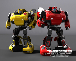 Bumblebee and Cliffjumper